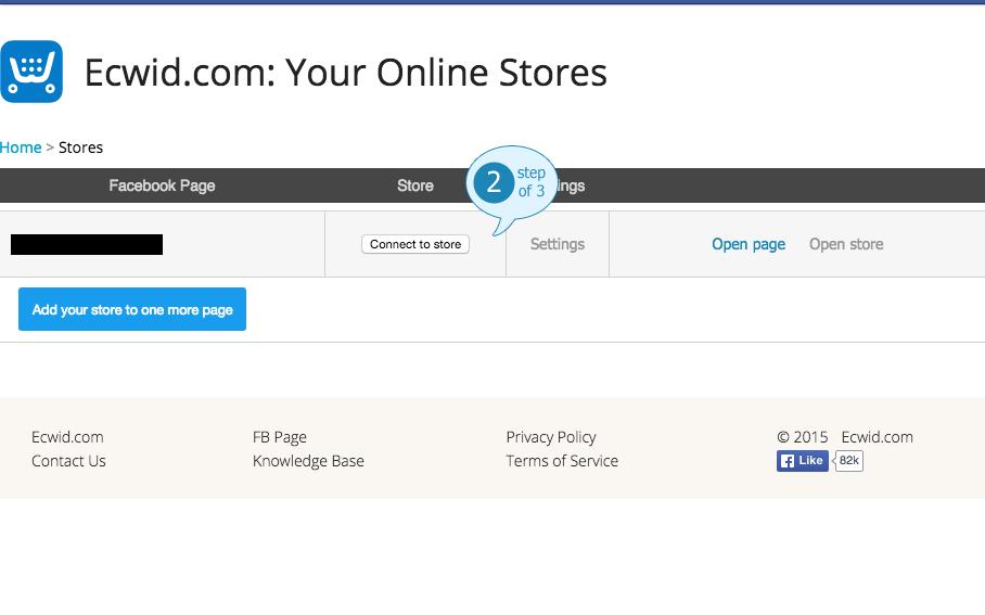 Your Online Facebook Store