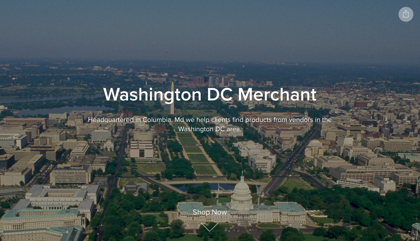 Washington DC Merchant