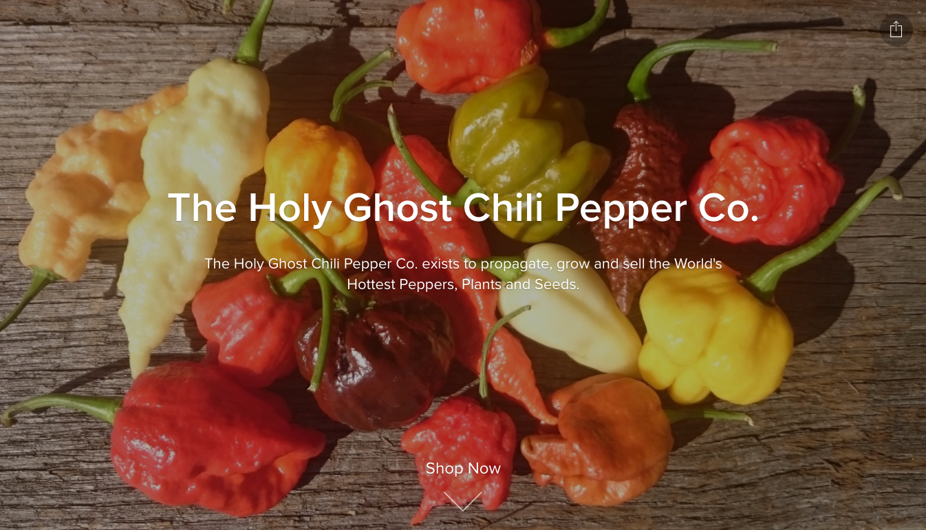 The Holy Ghost Chili Pepper Co.