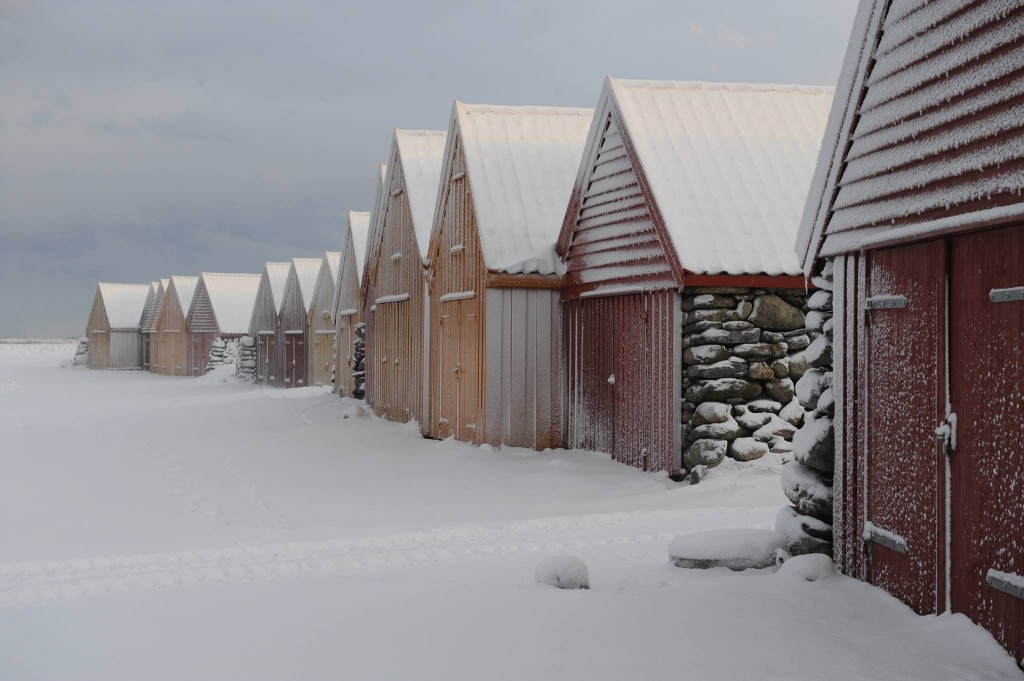 Winter in Jæren. Foto door Torstein Aase