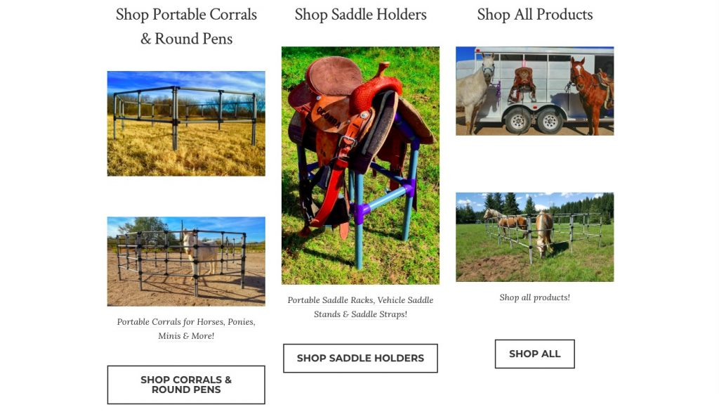 Produk Portabel terjangkau toko Ecwid contoh
