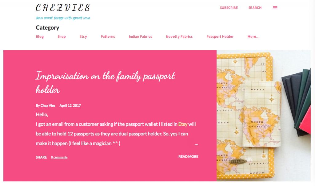 Chezvies Blog