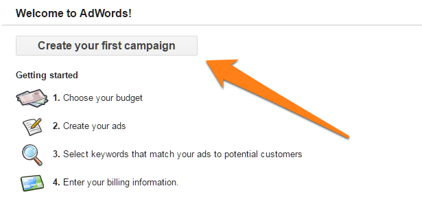 Creating ad campaigns on Google Shopping