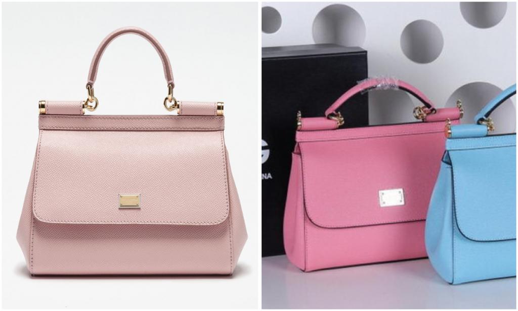 Dolce&Gabbana gefälschte vs original