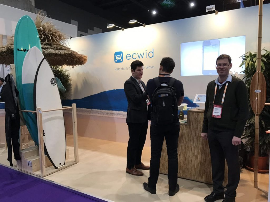 Ecwid team at WHD