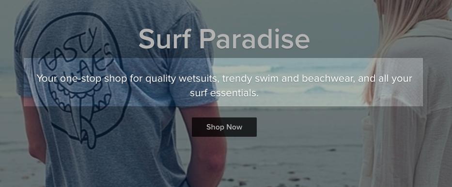 Gratis e-commerce website: subtitel