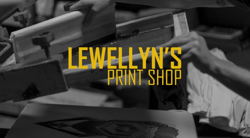Lewellyns print shop