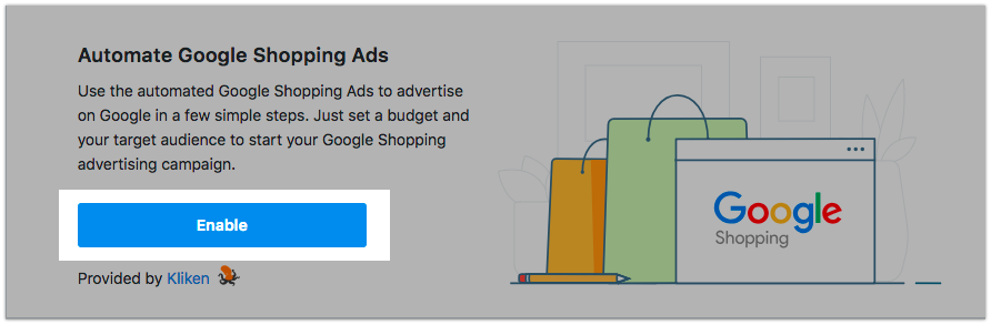 List Ecwid store products on Google Shopping