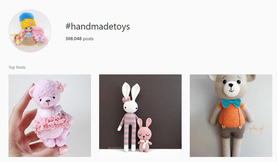 Follow Instagram hashtags