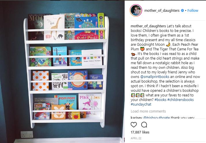 Un guest post Instagram per una libreria