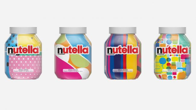 Nutella new 80s branding