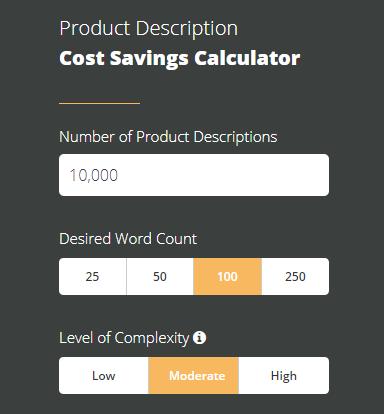 Description du produit Calculateur de frais, OneSpace
