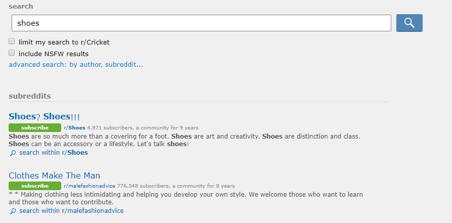 Reddit groot publiek