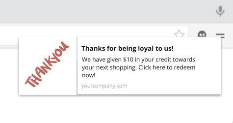 Belohnung Loyalität