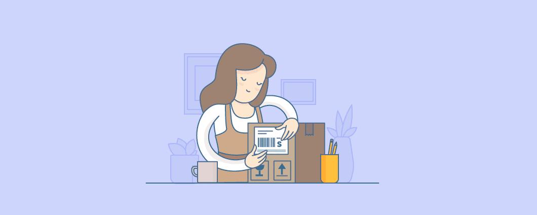 Un Empresario de Guía para la Comprensión de las Etiquetas de Envío para Tiendas de Comercio electrónico