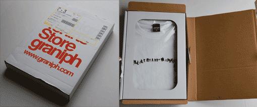 T-shirts emballage