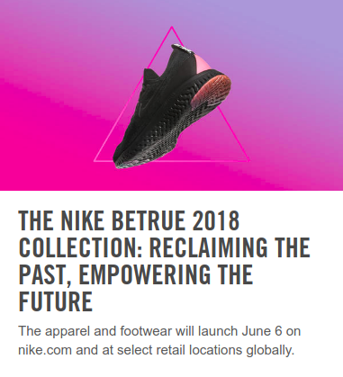 Nike brand story