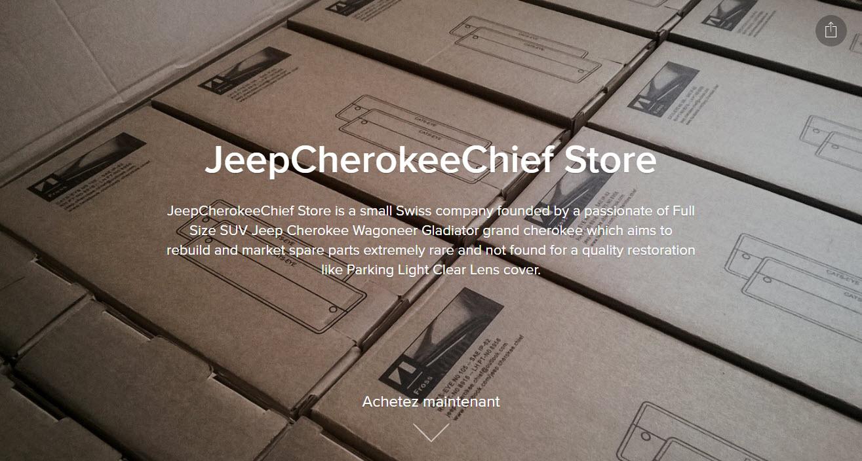 jeepcherokeechief winkel starter website Ecwid