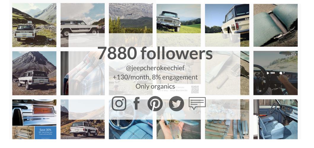 jeepcherokeechiefstore social media