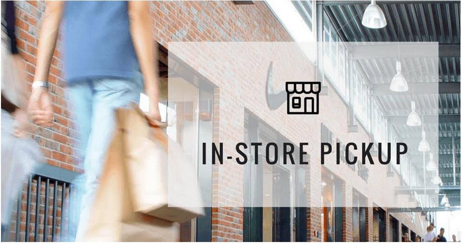 приложение In-Store-Pickup для Эквид-магазина