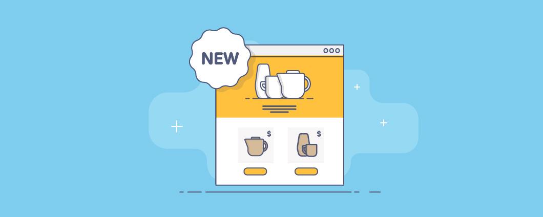 Готовый сайт для интернет-магазина: обновленный стартовый сайт Эквида
