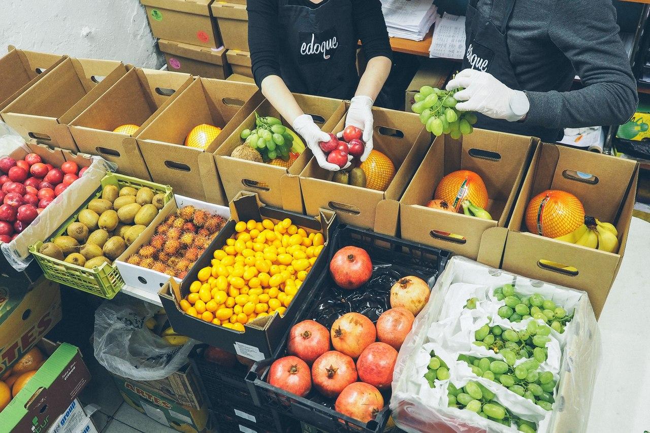 В Петербурге появился веб-сайт, осуществляющий доставку фруктов и овощей для заведений общественного питания