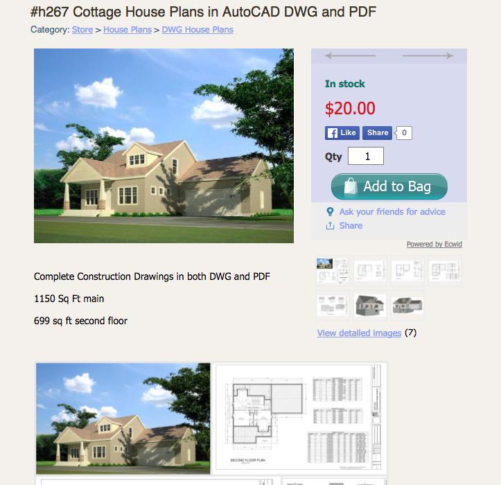 В интернет-магазине sdsplans.com продаются проекты домов, гаражей и хозяйственных построек