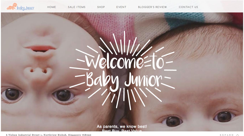 Интернет-магазин товаров для детей Baby Junior