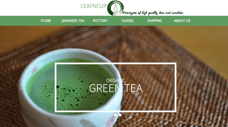 Интернет-магазин чая Leafncup