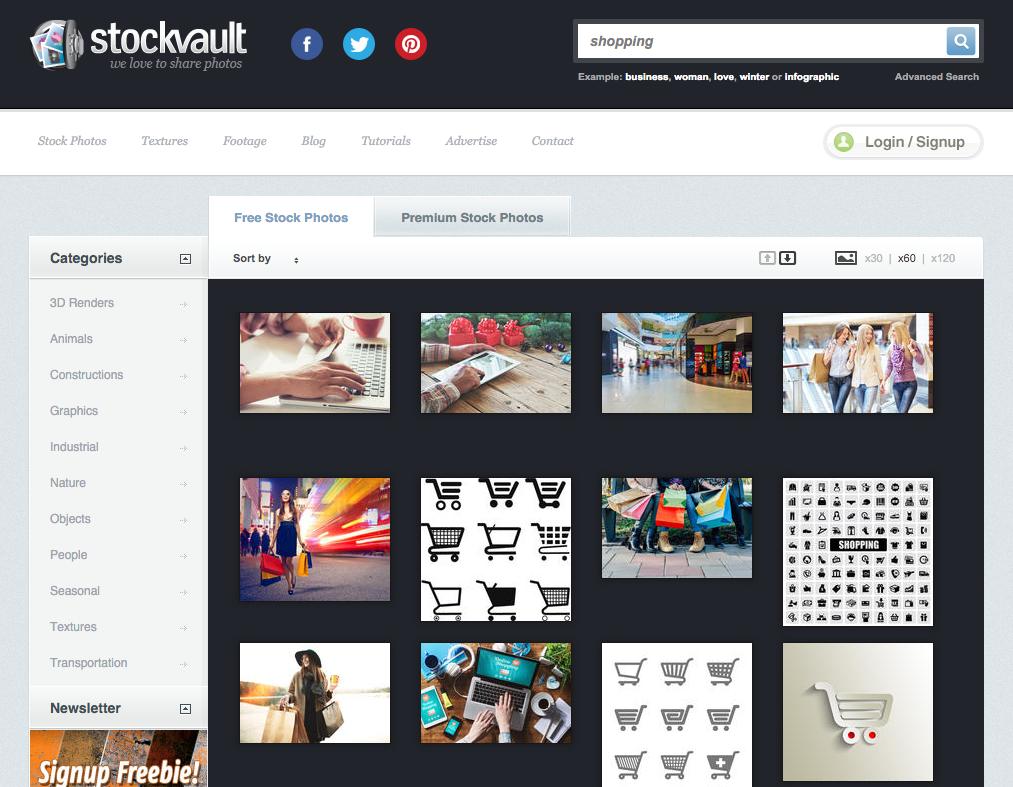 Бесплатные фотографии на Stockvault.net