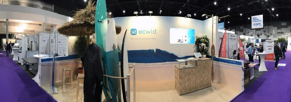 Ecwid Surf Shop на конференции WHD 2017