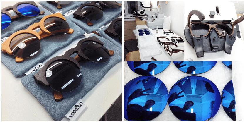 деревянные очки WoodSun